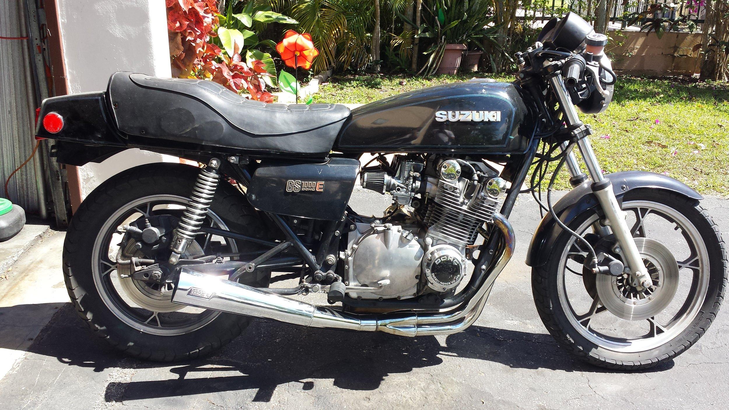 1979 Suzuki GS1000E - Before
