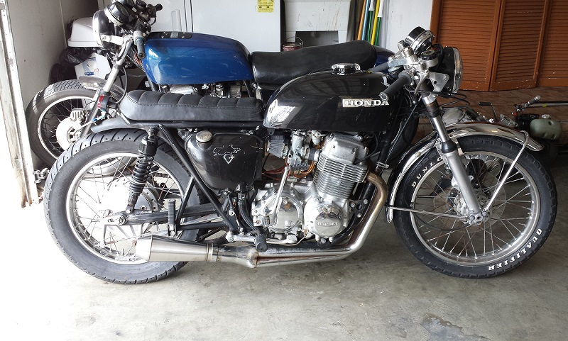 1974 Honda CB750 - Before