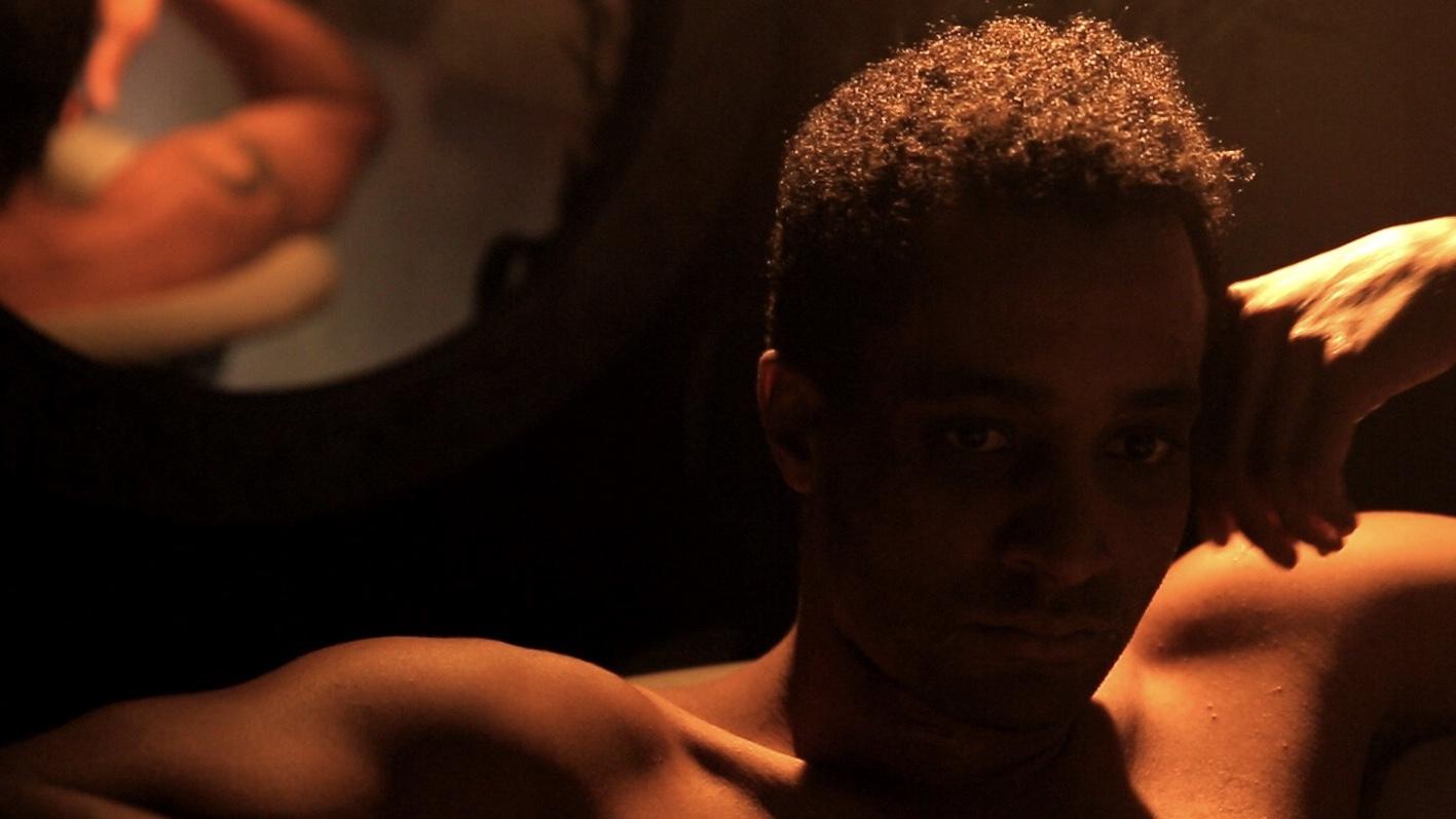 Luke Rampersad plays Jimmy, lost in a perpetual bath of memories.