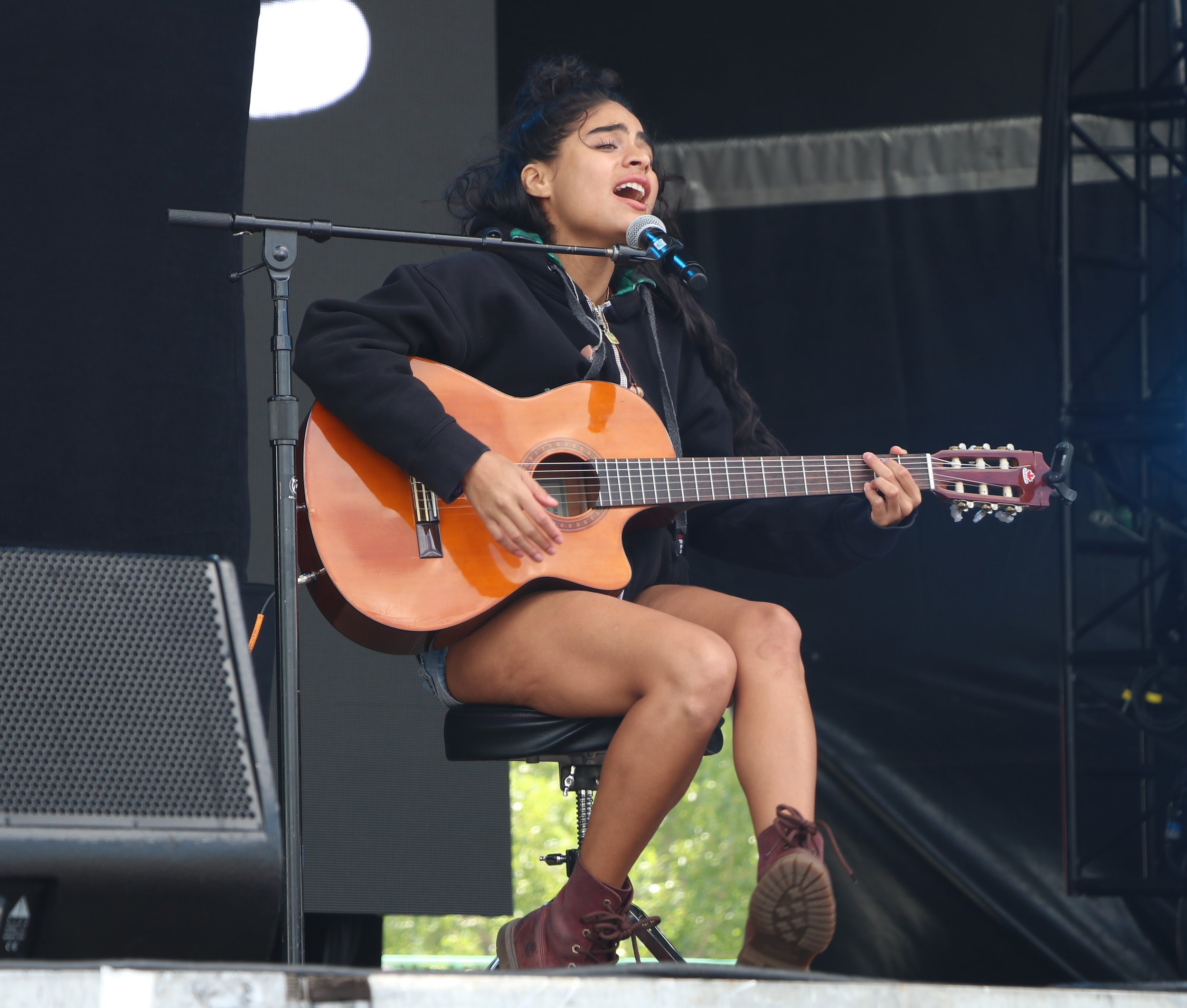 Jessie Reyez at Governors Ball 2017
