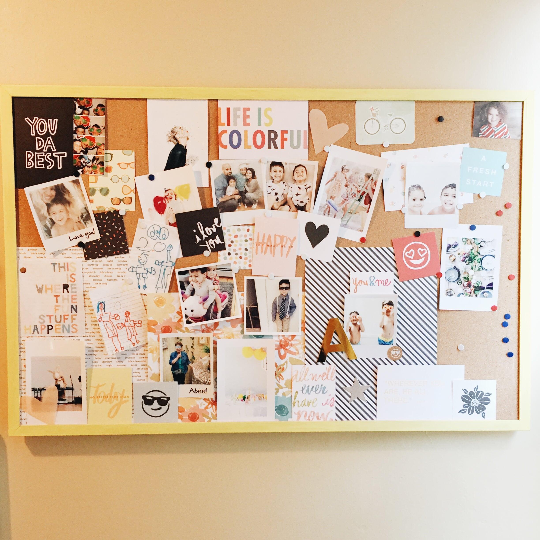 diy vision board happysoiree.com