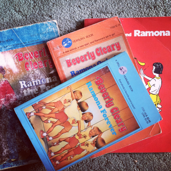 My old Beverly Cleary books were among the (many) books stashed in Mom's attic.