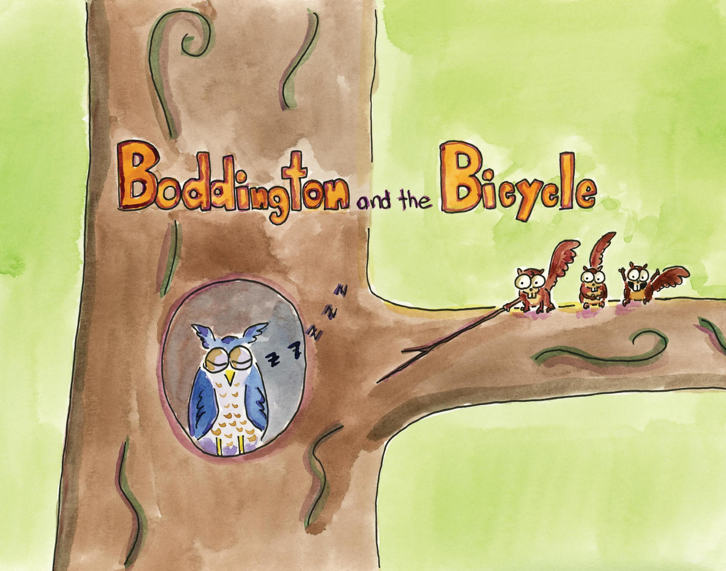 Book 3 - Boddington and the Bicycle