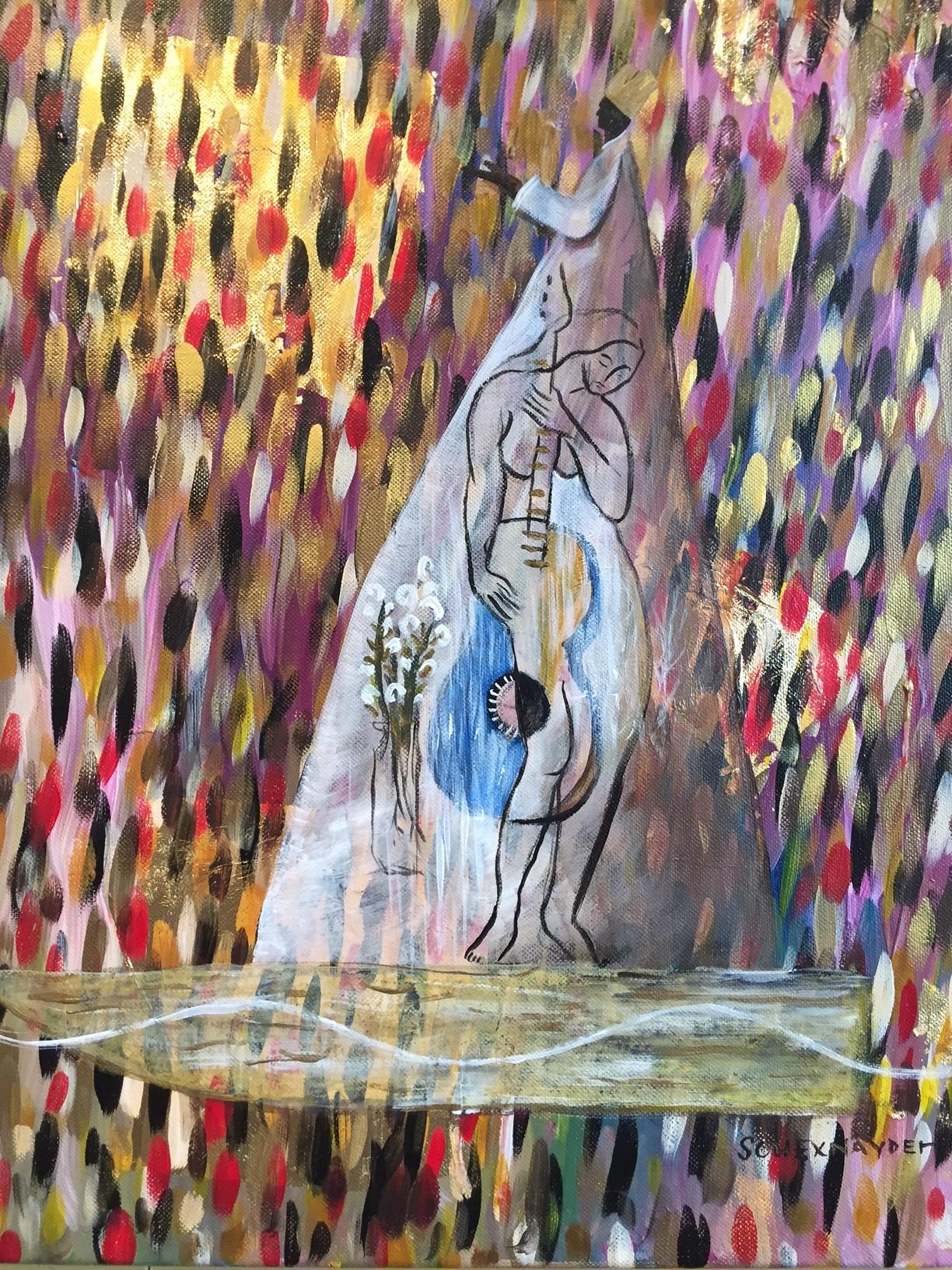 Rhythm and Blues acrylic on canvas 16 x 20.JPG
