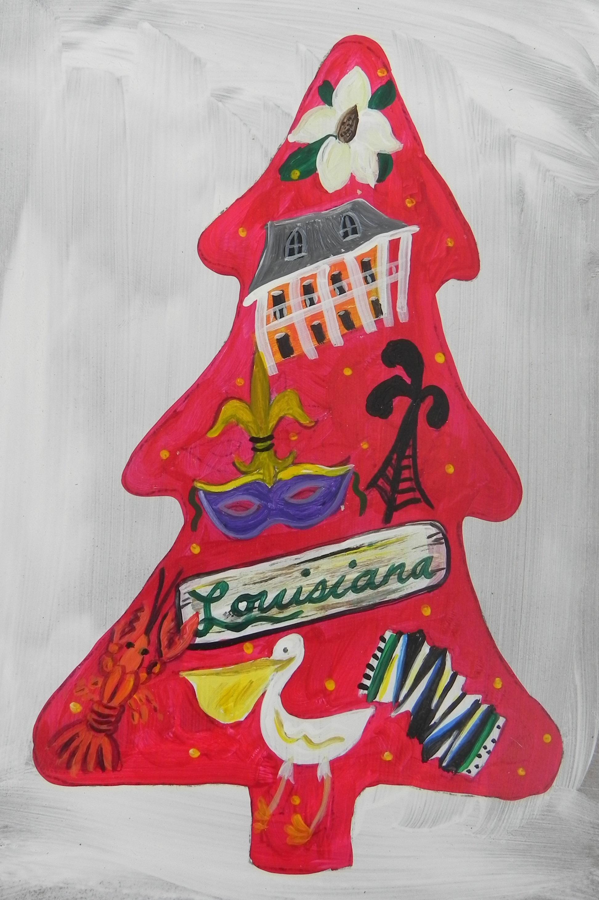 Louisiana Christmas Tree