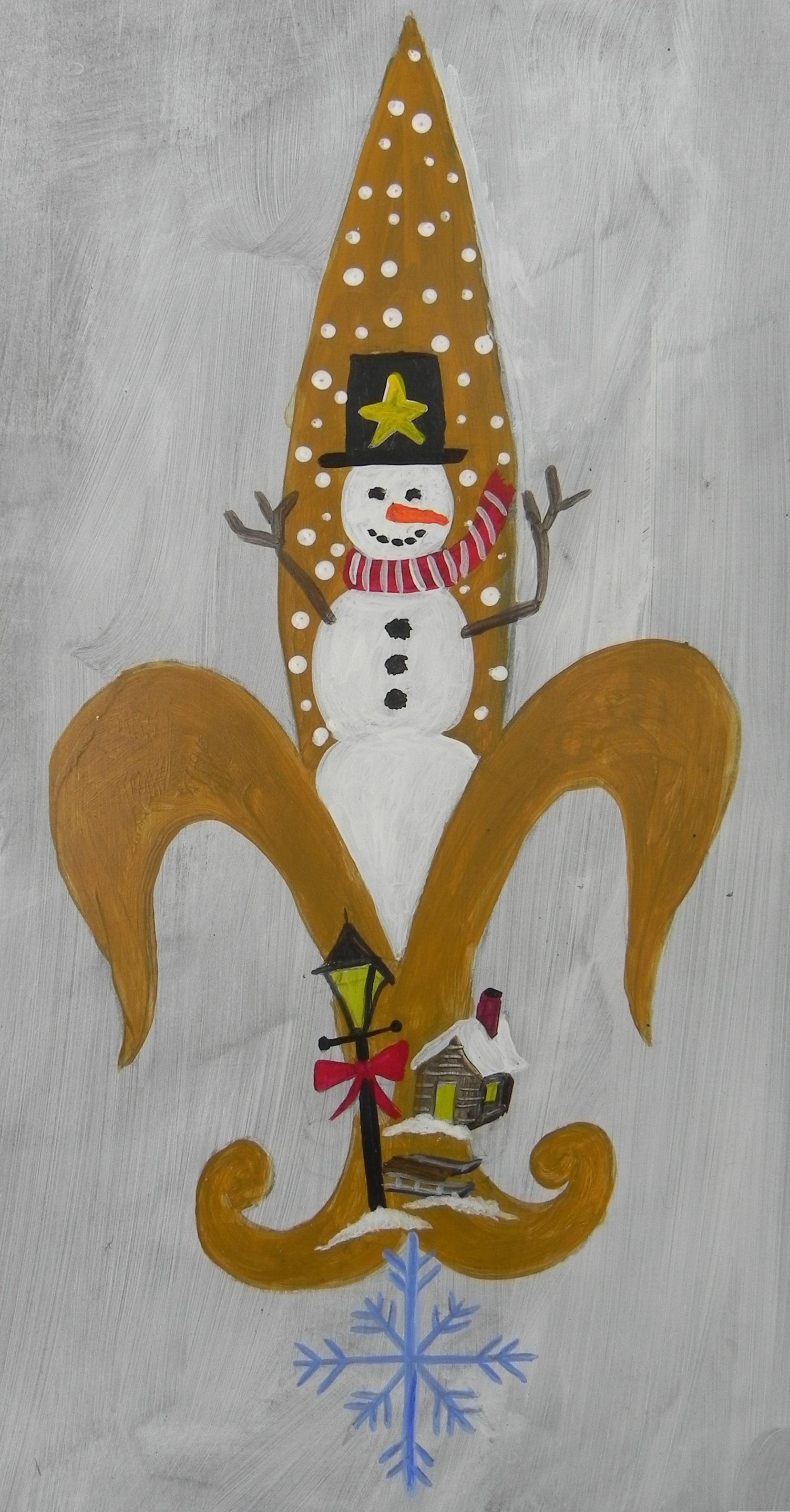 Snowman de Lis