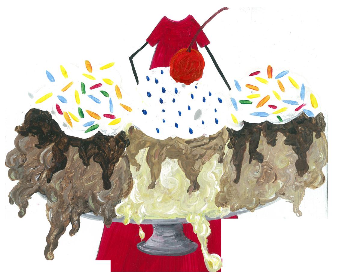 Caramel Fudge Ice Cream Sundae