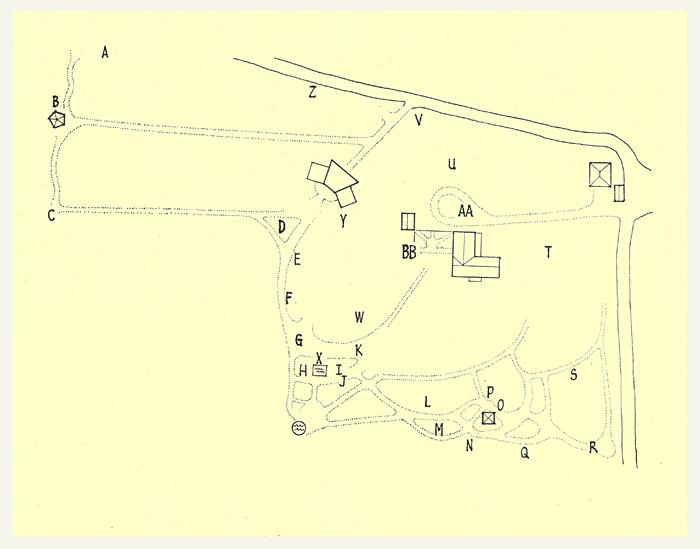 Sculpture Garden Map