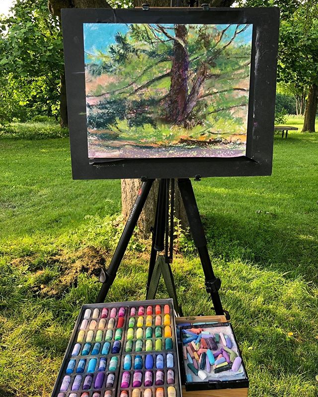 Are you interested in learning how to paint outside in nature?  Discover how to see beyond the obvious with Susan Nicholas -Gephart, a seasoned plein air and studio painter that will lead you to your personal color expression in  both pastel and oils. Call the Arts Alliance office at 814-234-2740 for more info, or register through their website www.artallianceofcentralpa.org