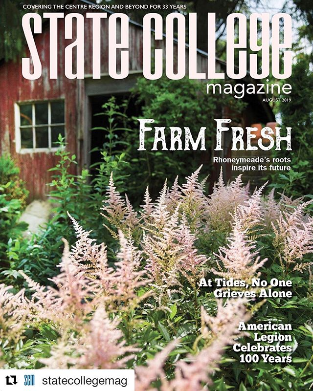 Look - we made the cover! Get yourself a copy of State College Magazine and read about what we've been up to!
