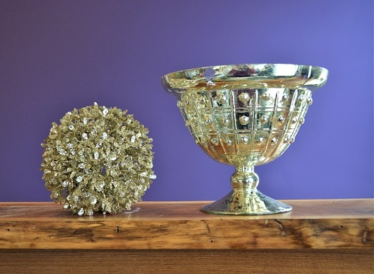"""Silver Mercury Compote Bowl  $12  Dimensions: 6.5"""" tall, 8"""" at widest point  6 Available"""