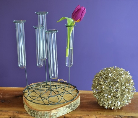Small Focal Stand  Includes (5) test tubes  $6