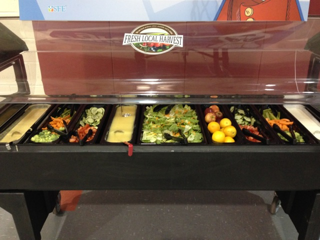 Sample Salad Bar