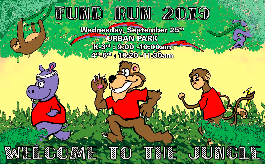 Welcome to the Jungle FunDRun 2019 - Thank you wonderful Mountain community. We smashed our fundraising goal and it's still rising! At the last count you had raised $16,272 and it's still rising! If you still have money to donate it is really welcome and means even more opportunities for great things at Mountain, including teacher grants, support for clubs and bigger and better Family and Community events. Thank you for all your wonderful support!