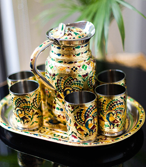 Carla Carstens On Holiday Mumbai Tea Set