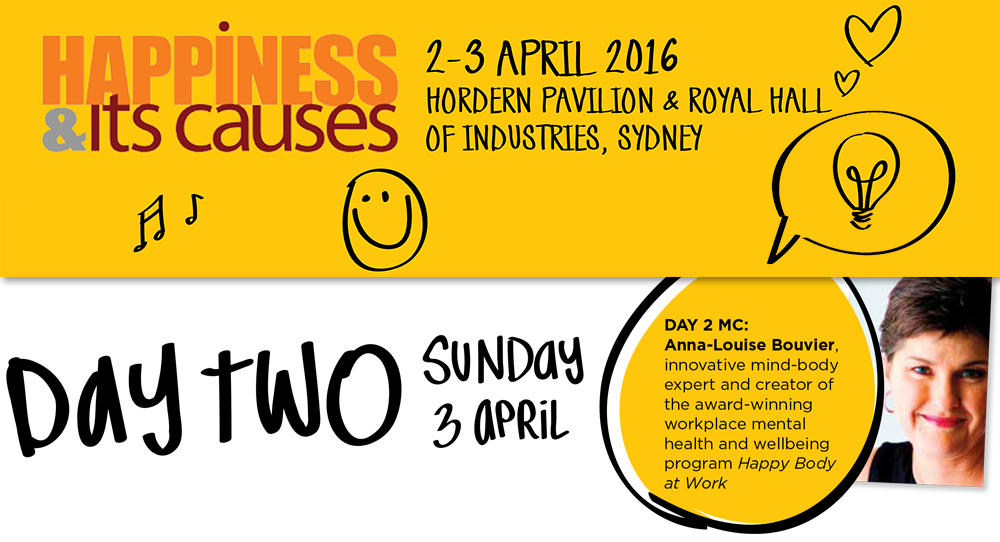 Happiness & Its Causes conference banner