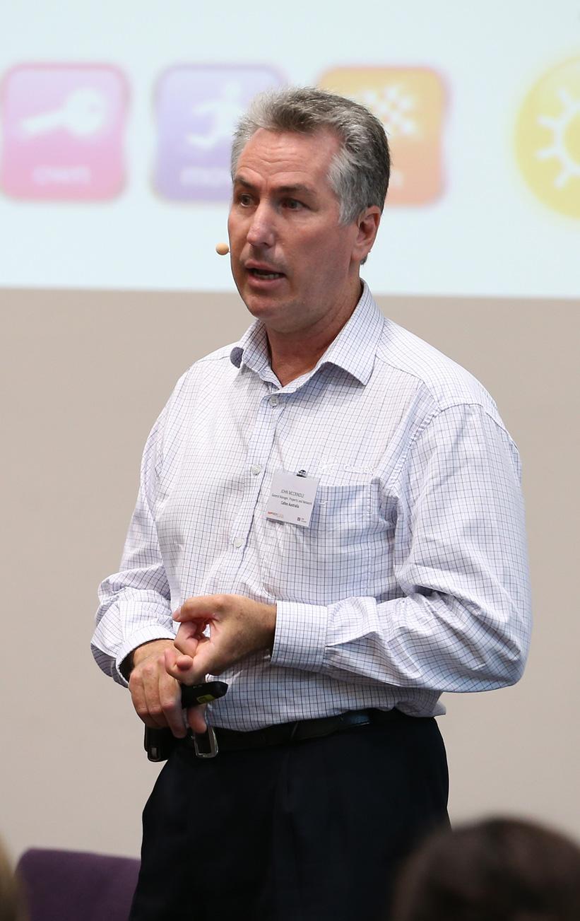 John McCrindle GM, Property & Networks Caltex Australia