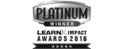 WINNER –   LEARNX IMPACT AWARDS 2016   BEST HEALTH & WELLBEING PROGRAM