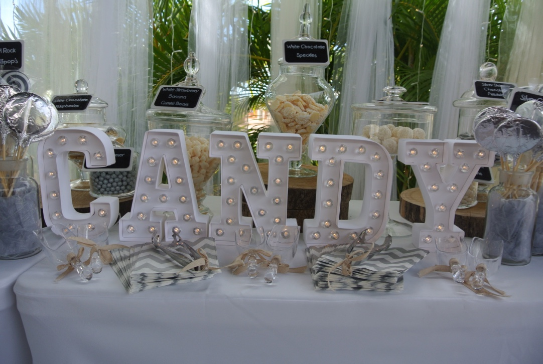 Candy Bar & Candy Led Sign