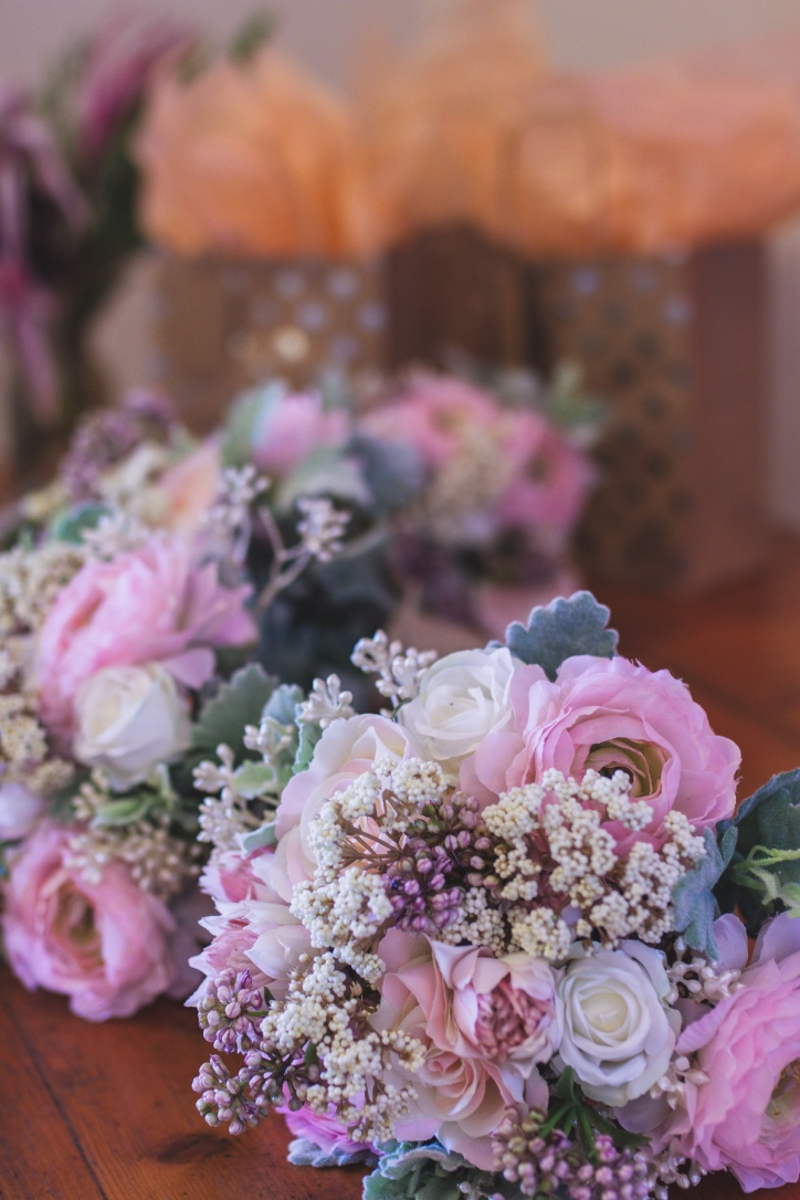 Customised Artifcial Bridal Bouquets