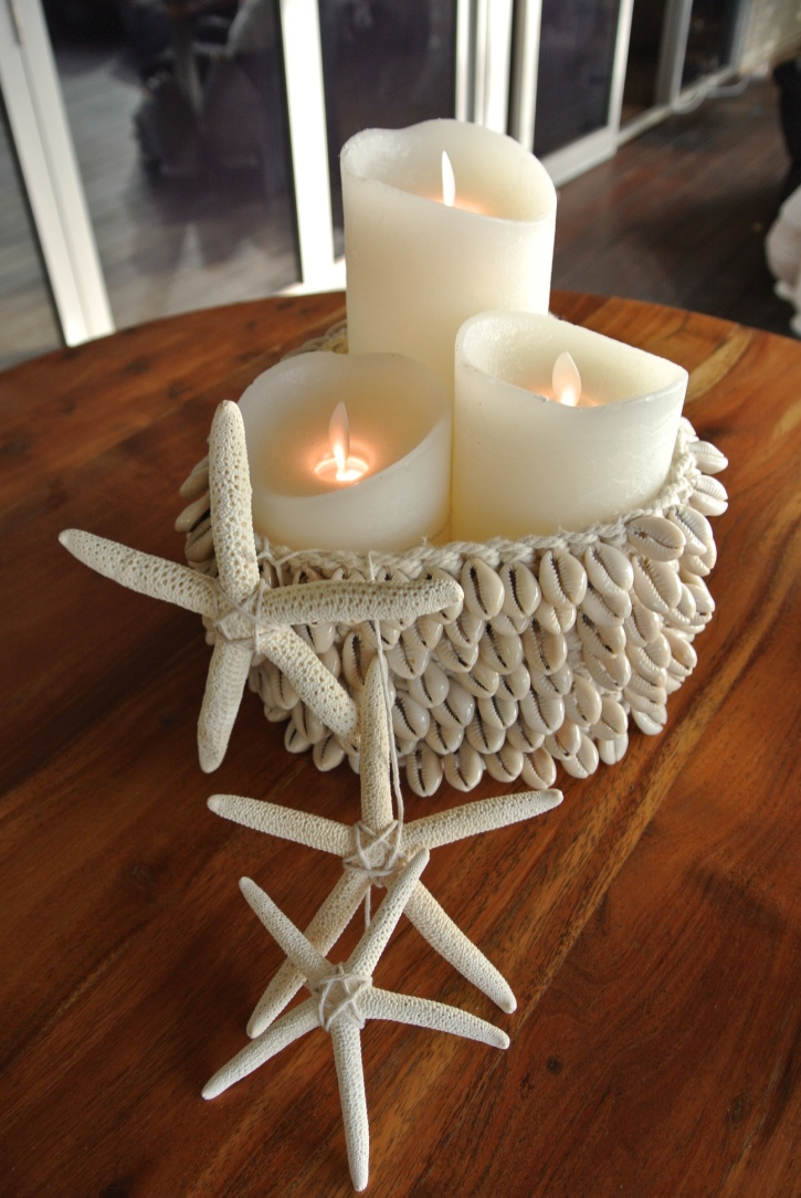 Led Candles, Shell Candle Holders, Starfish