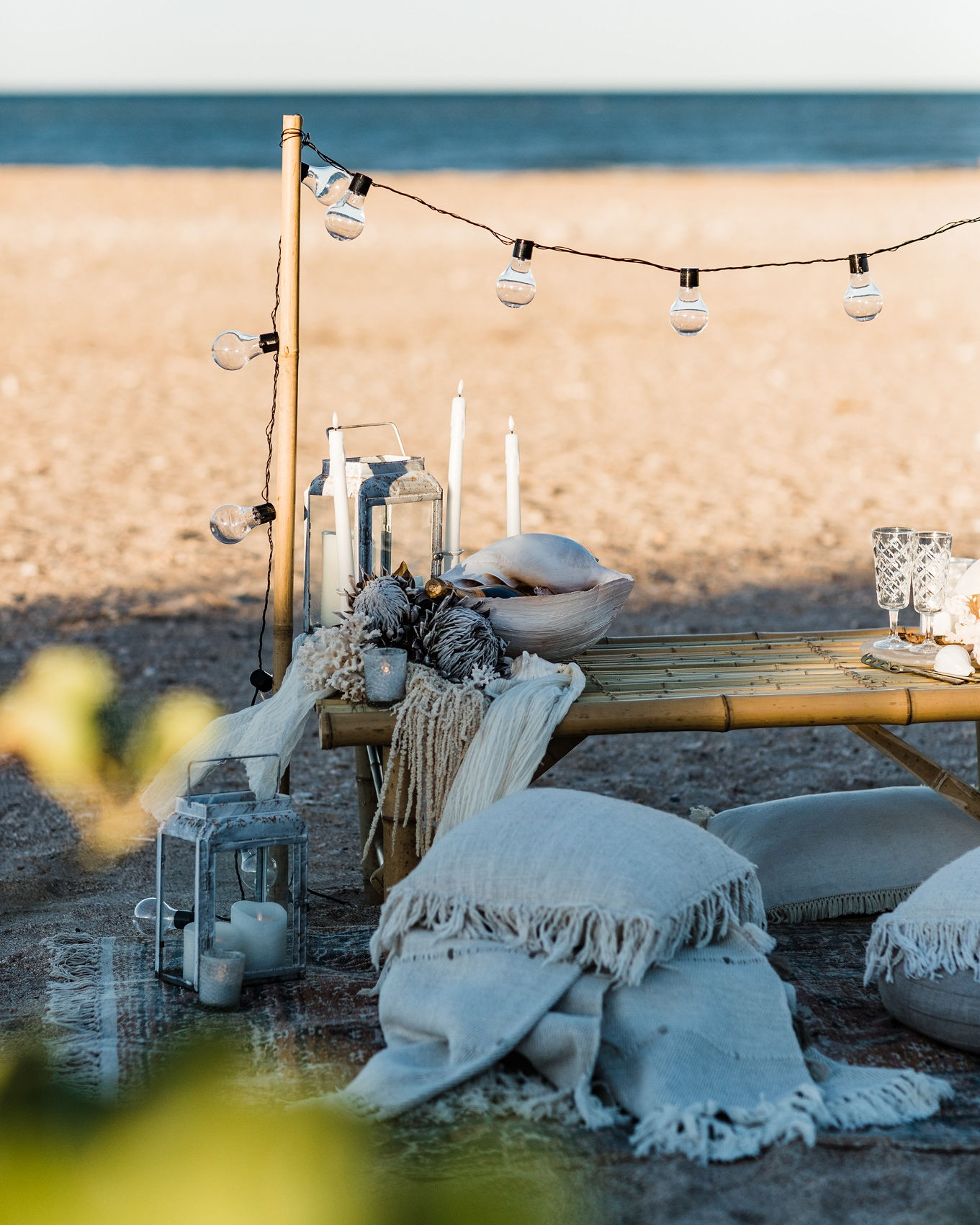 - Jess you did such an amazing job with the set up of our proposal beach picnic in Exmouth. It was just so beautiful and the most amazing surprise! Food was delicious and champagne was perfect. Thank you so much for everything!Proposal Sheldon & Ashley