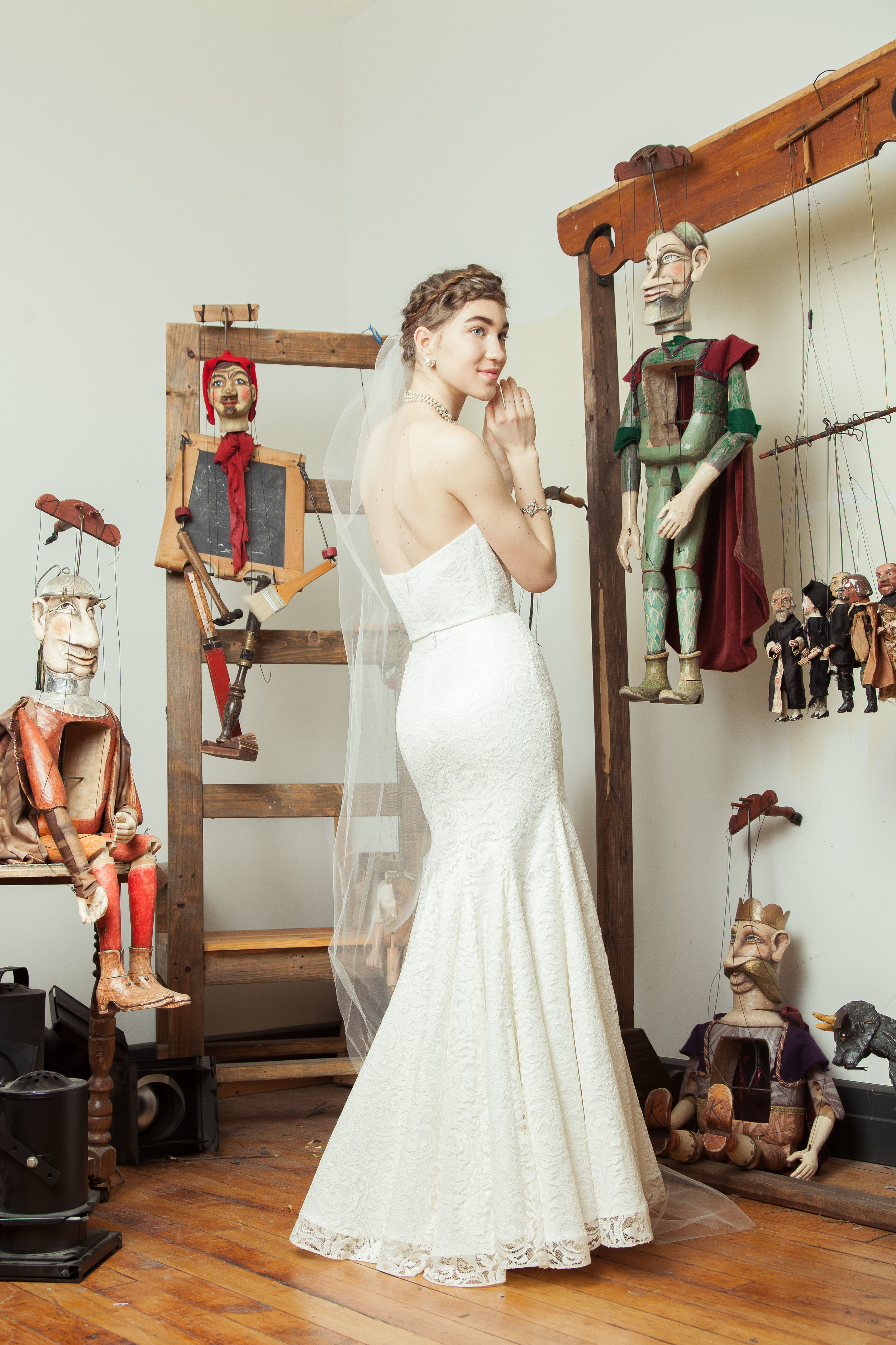 Zabawka top with Mazurka skirt