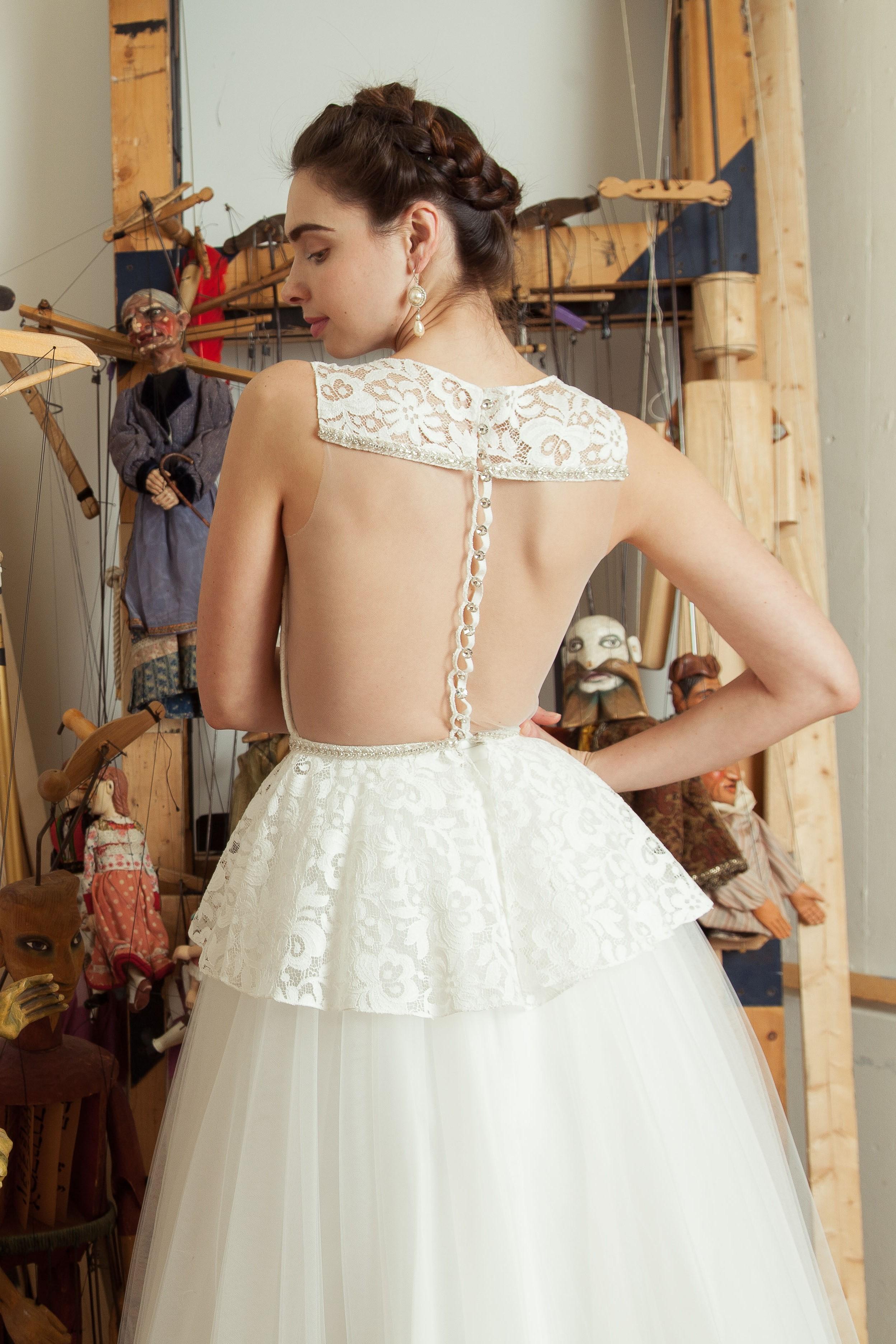 Lustige top with Brygida skirt