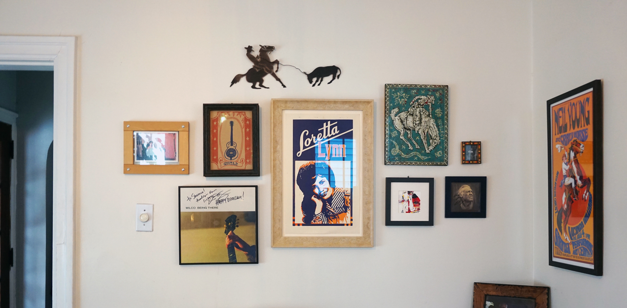 Western Inspired Gallery Wall