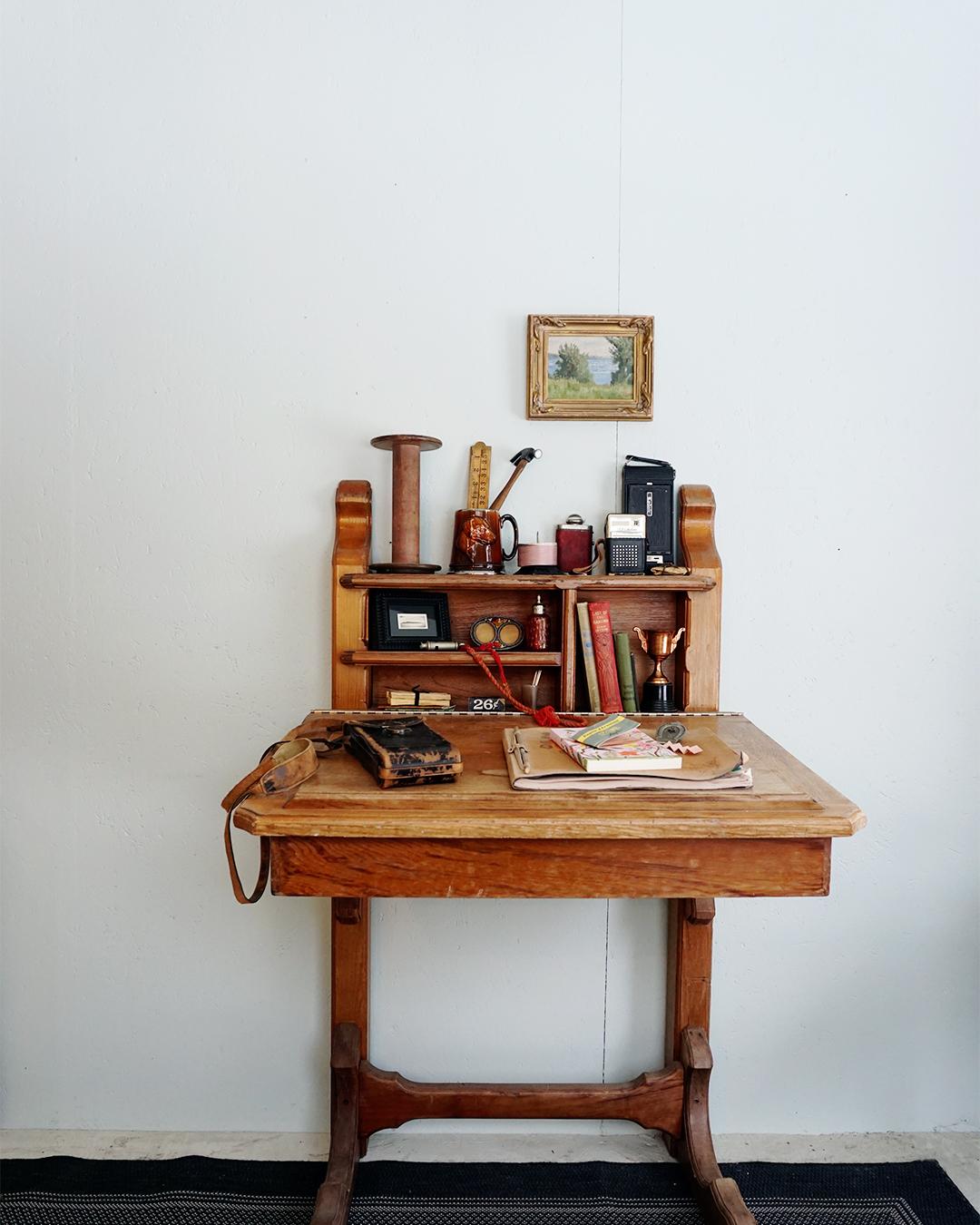 Vintage Desk Styling