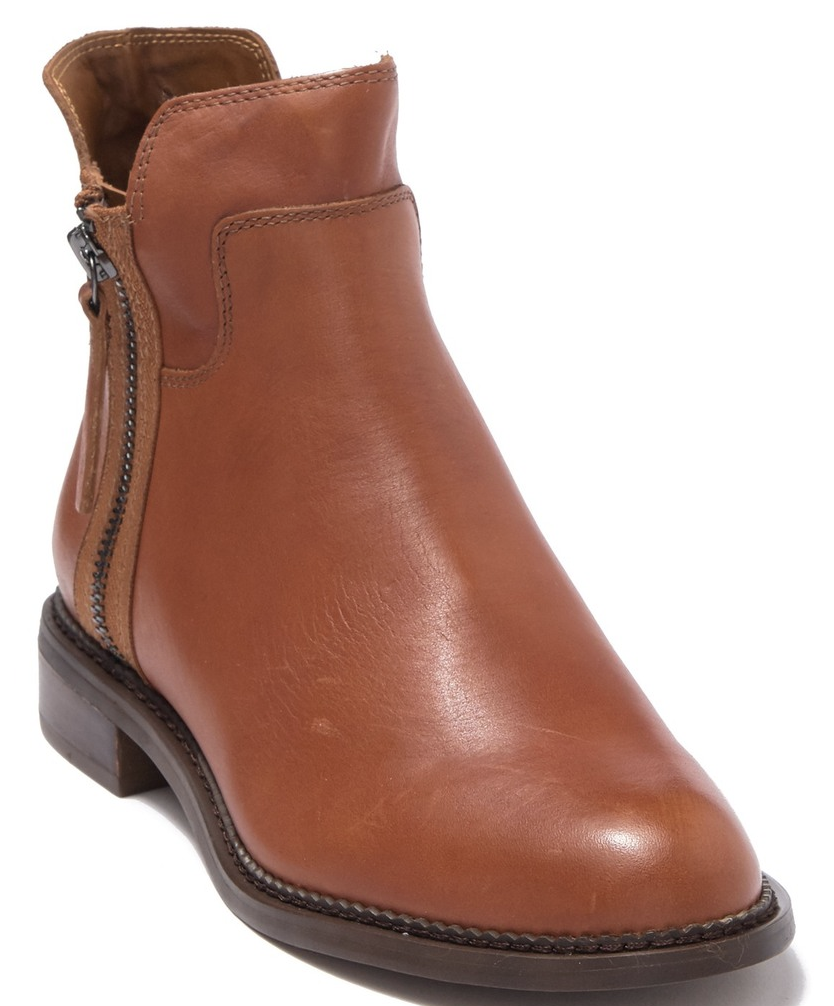 These are new this year and I L.O.V.E. them. I wanted a flat classic boot and this one has a zipper on both sides so I can get my high insteps into them.