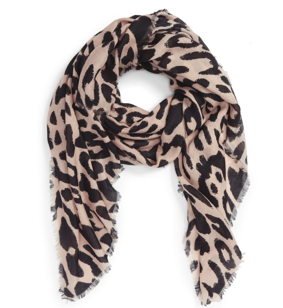 I snagged this at Nordstrom because literally every outfit I pinned had this exact scarf in it. This is a classic piece I cannot imagine living without.