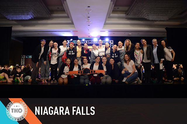 "HUGE CONGRATULATIONS TO ALL THE AMAZING STUDIOS FROM TKO NIAGARA FALLS 2019! It was an unbelievable weekend 🥊🥊🥊 Shout out to our MAIN EVENT 13& OVER WINNERS ""END OF THE WORLD"" from @abdance_  #tko2019 #tkoniagara"
