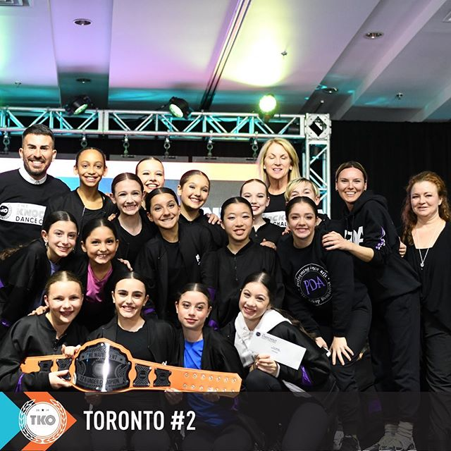 """WHAT AN INCREDIBLE WEEKEND TKO TORONTO #2!!! Congratulations to all 🥊🥊🥊 Shout out to our 12& under MAIN EVENT WINNERS 👏🏽👏🏽👏🏽 WINNER """"CANNED HEAT"""" from @performingdancearts  1ST RUNNER UP """"ELECTRO SWING"""" from @artandsouldc7  2ND RUNNER UP """"I'll BE YOUR LADDER"""" from @elitedanceworx  #tko2019 #tkotoronto2 #whattaweekend"""