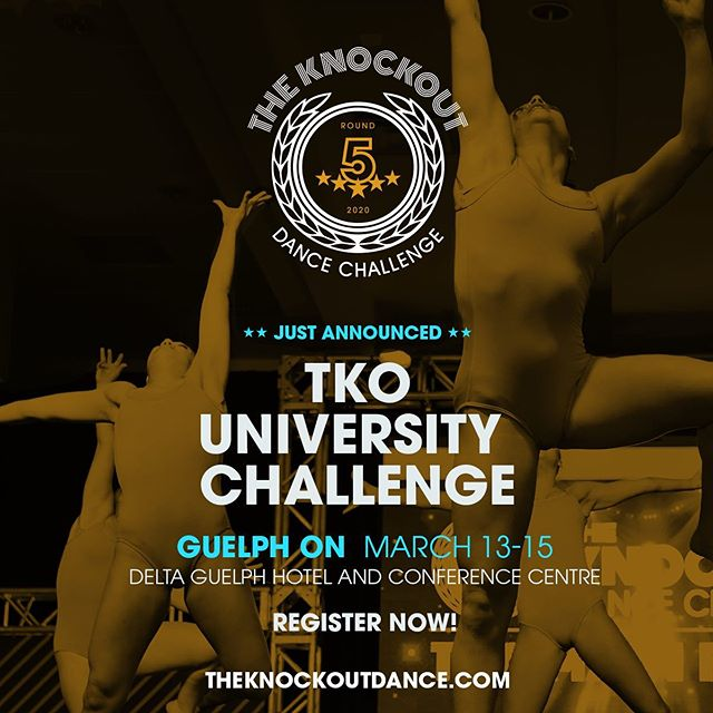 SOOOOOO WE CAN'T KEEP A SECRET 😂 ⚠️⚠️TKO ROUND 5 ANNOUNCEMENT ⚠️⚠️ YOU ASKED FOR IT AND WE LISTENED 📣📣CALLING ALL DANCE TEAMS .....WE ARE SO EXCITED TO HOST OUR VERY FIRST TKO UNIVERSITY CHALLENGE. CONTACT US NOW FOR MORE INFORMATION info@theknockoutdance.com THIS IS GOING TO BE ONE EVENT YOU DO NOT WANT TO MISS!!! #tko2020 #tkoround5 #tkounichallenge #thisisgonnabegood