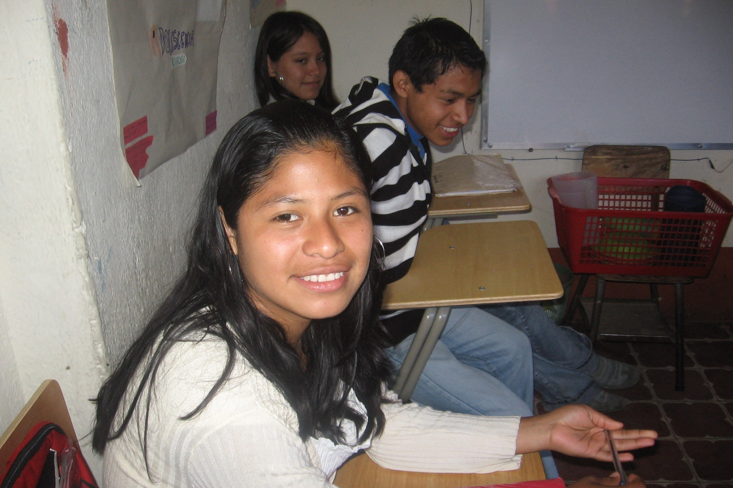 Middle School Students in Guatemala