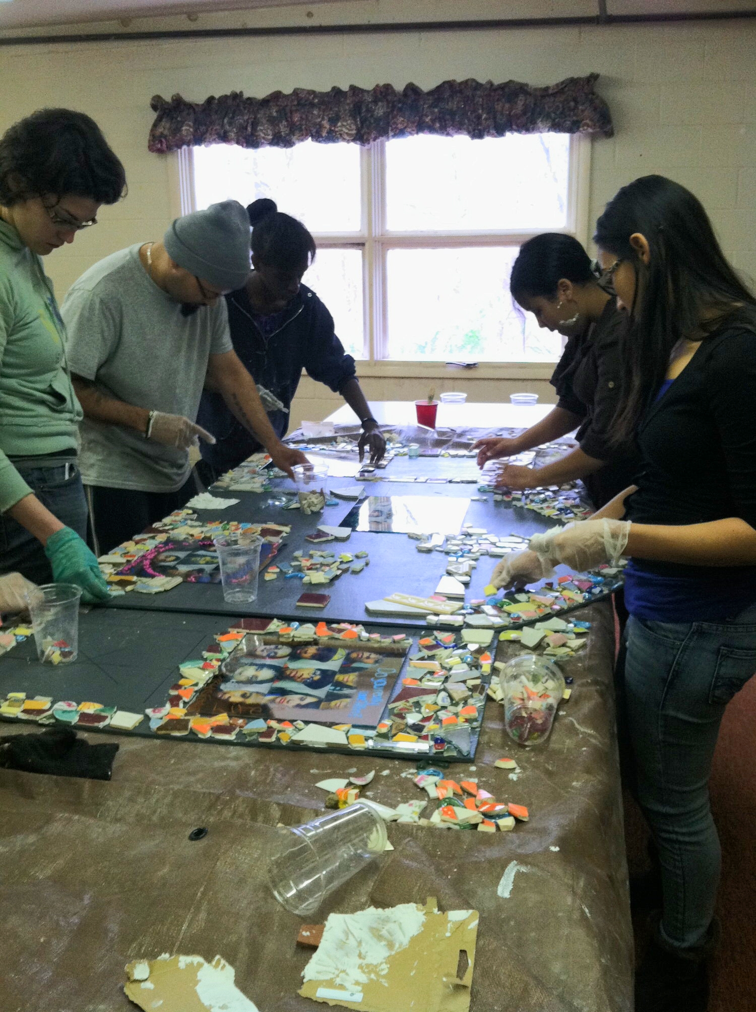 Creating the Mosaic