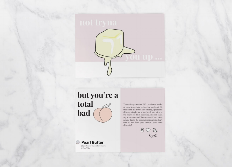 pearl-butter-thank-you-packaging-insert