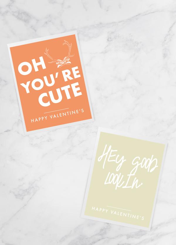 """Printable Valentine Cards"""