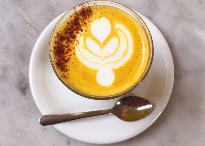 """""""At Home Turmeric Latte"""""""