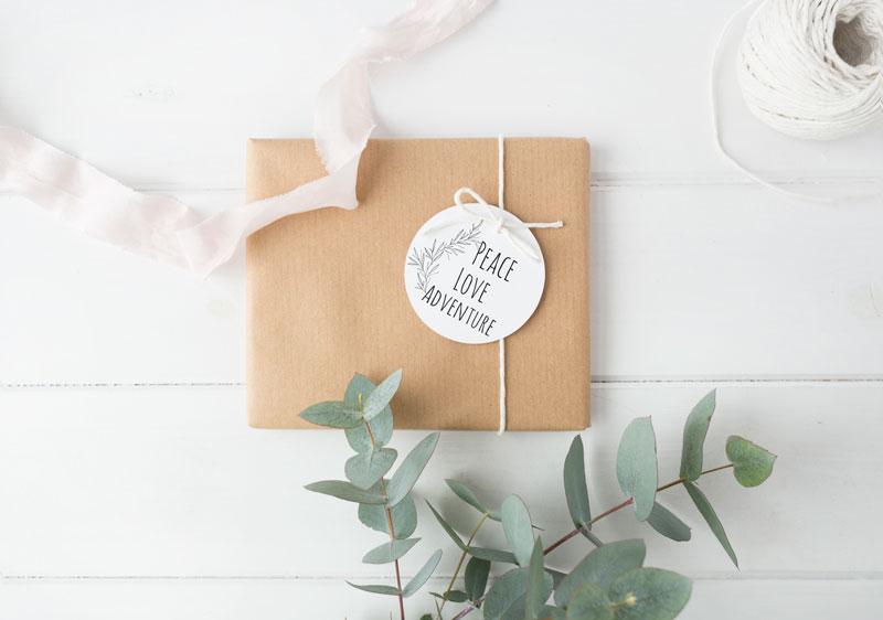 """""""Printable Holiday Gift Tags"""""""