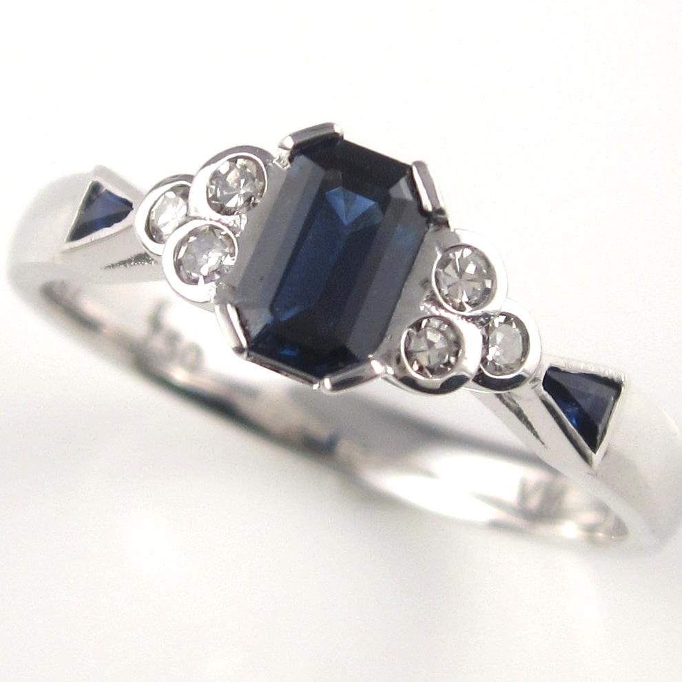 Antique sapphires