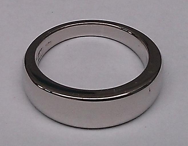 Polished ring.