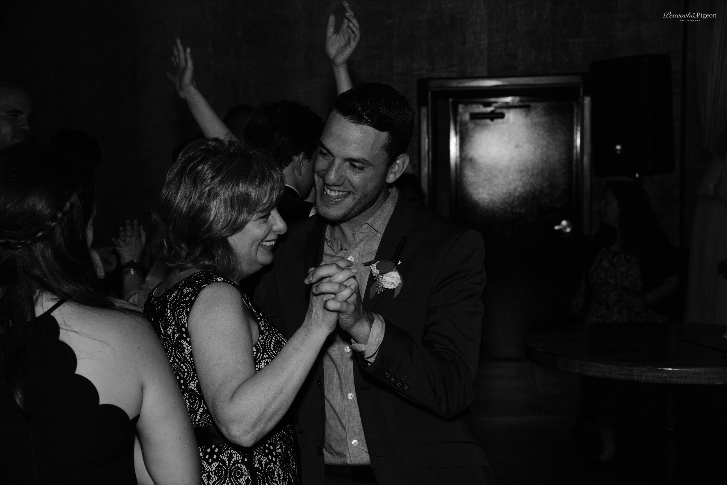 Callum_and_Sara's_Wedding_at_the_Cork_Factory_Hotel_in_Lancaster-Part_Twelve_More_Dancing_Continued_Black_and_White_Watermarked-59.jpg