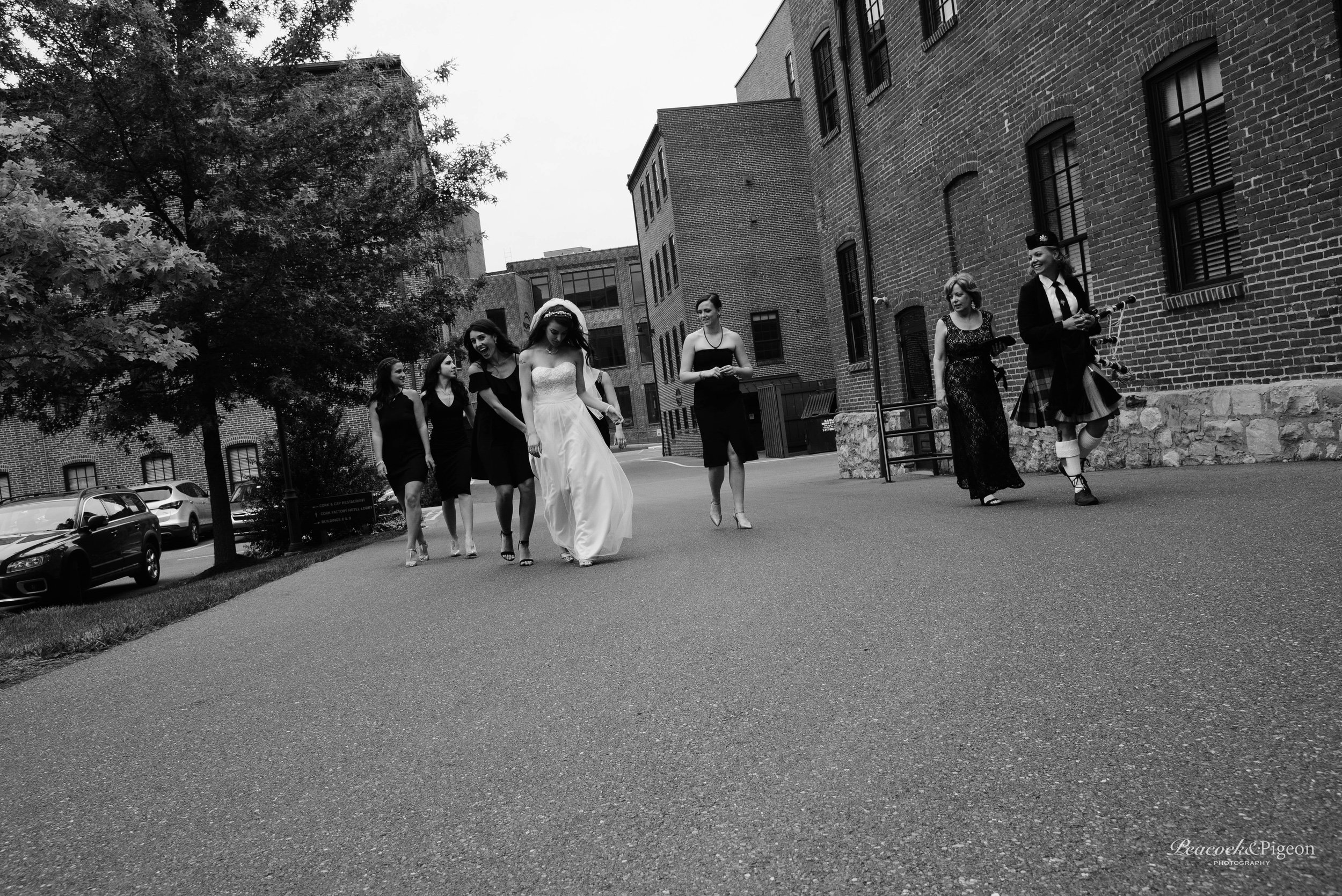 Callum_and_Sara's_Wedding_at_the_Cork_Factory_Hotel_in_Lancaster-Part_Two_The_Bride_Bridesmaids_and_Family_Black_and_White_Watermarked-45.jpg