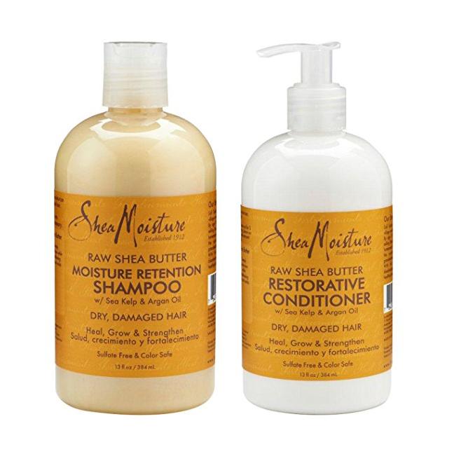 Shea Moisture Shampoo & Conditioner -