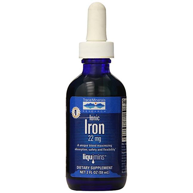 Liquid Iron drops -