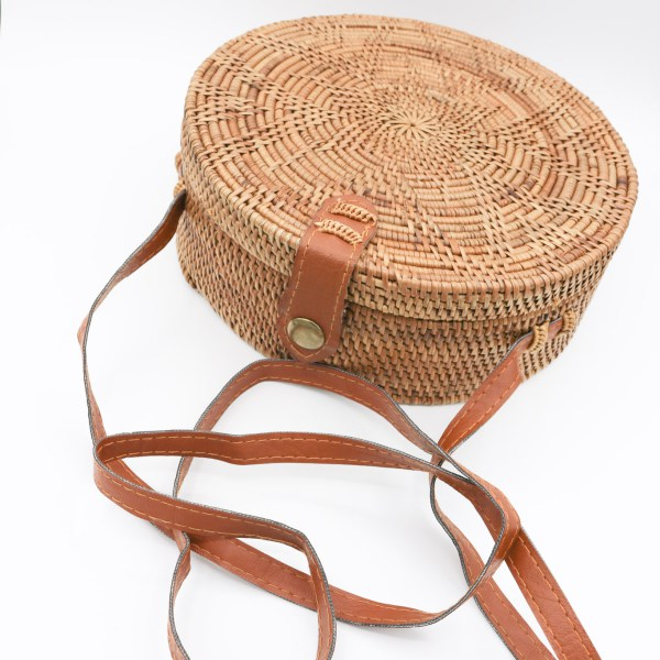 Vegan Basket Bag -