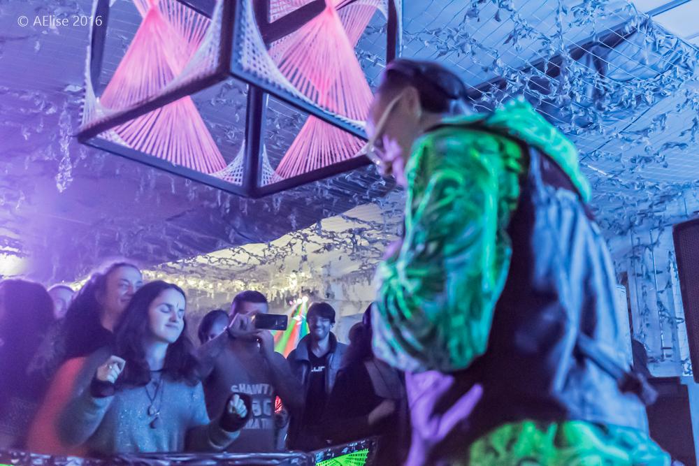 SecretSoma London underground psychedelic trance scene