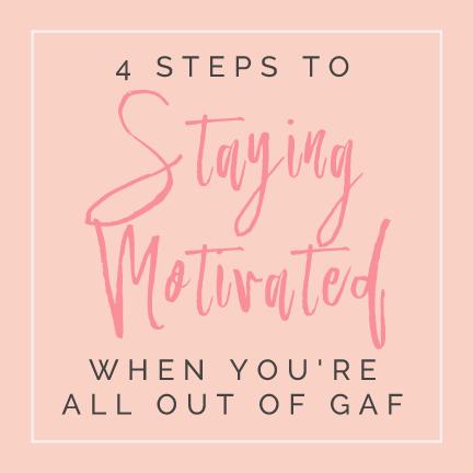 how to stay motivated author samantha eklund